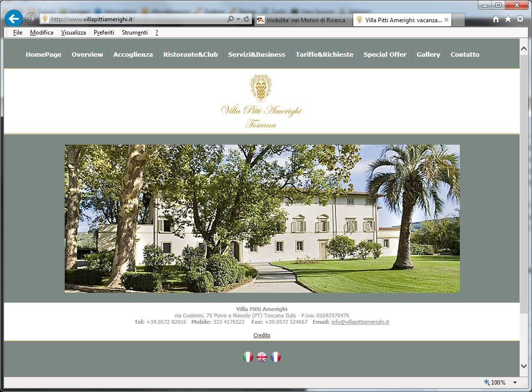 Siti web per hotel pistoia for Siti web di costruzione domestica
